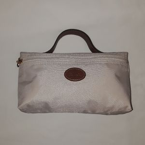Longchamp Authentic cosmetic bag made in France